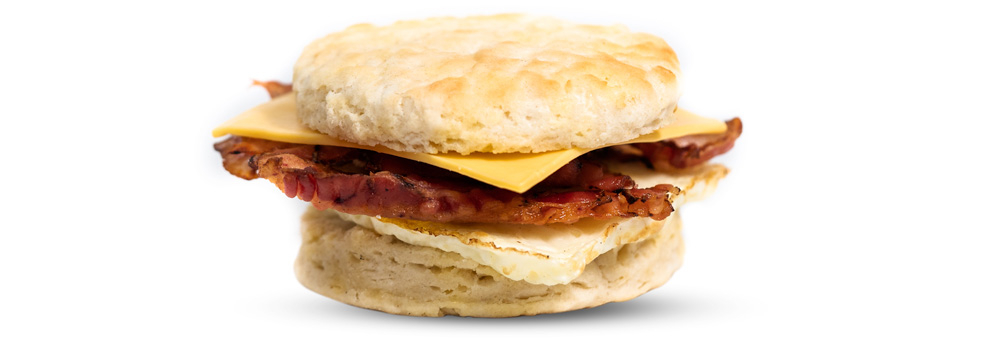 Bacon, Egg, & American Cheese Biscuit