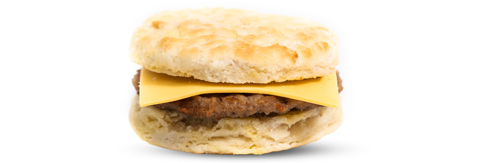 Sausage & American Cheese Biscuit
