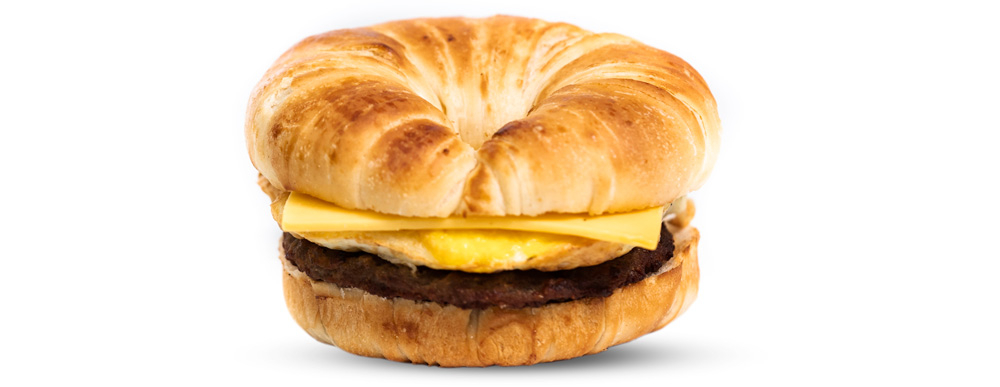 Sausage, Egg, & American Cheese Croissant