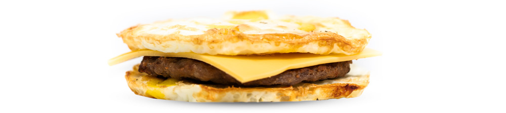 Sausage & American Cheese Eggwich