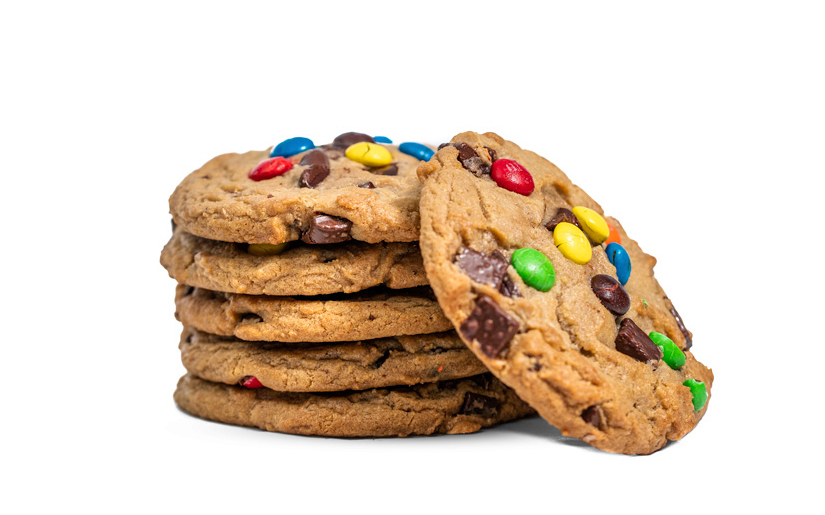M&M Decadent Cookie