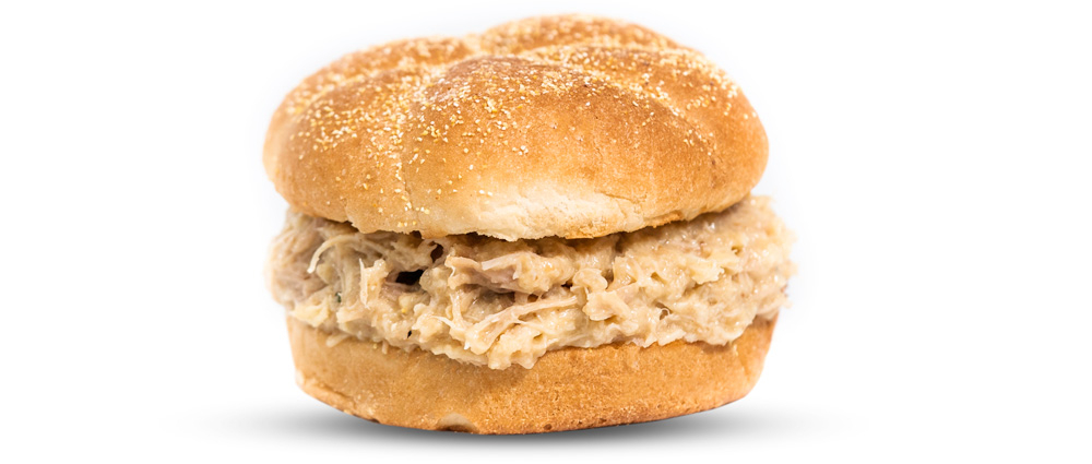Shredded Chicken Sandwich